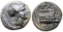 Ancient Coins - KINGS of MACEDON DEMETRIOS I POLIORKETES Æ 12 MM & 1.8 GR