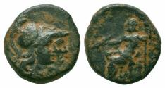 Ancient Coins - PAMPHYLIA.Attaleia.2nd-1st Century BC.AE Bronze