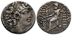 Ancient Coins - SELEUUCIS and PIERIA PHILIP I PHILADELPHOS AR TETRADRACMY