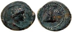 Ancient Coins - CAPPADOCIA, CAESAREA-EUSEBIA. PSEUDO-AUTONOMOUS ISSUE  Æ BRONZE