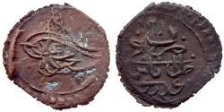 World Coins - OTTOMAN LIBYA MAHMUD II BI 10 PARA AH 1223 / 20 TARABULUS GHARB RR 4.2 GR & 22,08 MM