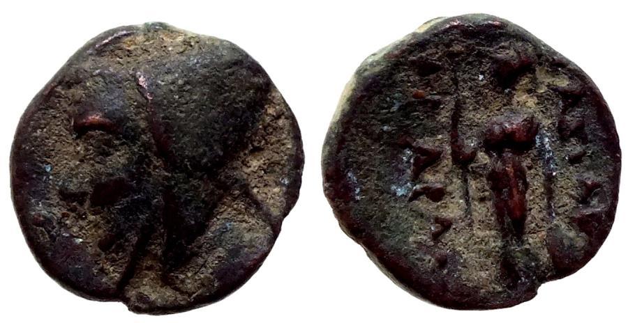 Ancient Coins - KING of CAPPADOCIA  Æ ARIARATHES II 1.9 GR & 13,37 MM