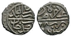 World Coins - OTTOMAN AR AKCHE of BAYAZID II AH 886 BURSA MINT 11 MM & 0.8 GR