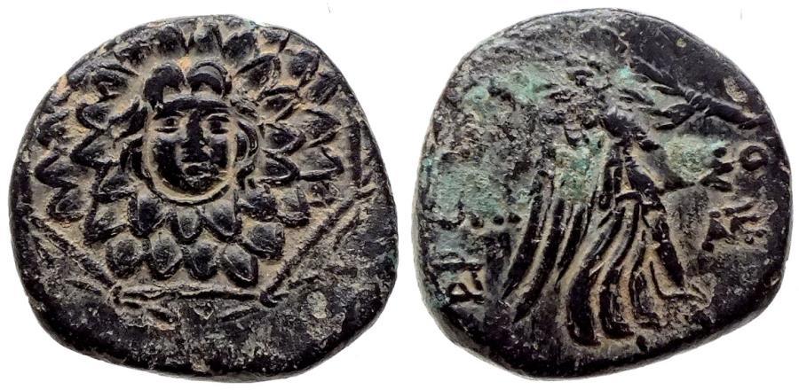 Ancient Coins - PONTOS AMISOS Æ 6.4 GR & 20,61 MM
