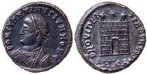 Ancient Coins - CONSTANTIUS II Æ FOLLIS CYZICUS MINT 3.3 GR & 18 MM