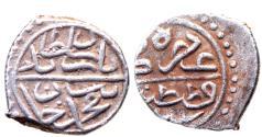 World Coins - OTTOMAN AR AKCHE of BAYAZID II AH 886 KOSTANTINIYE MINT 0.8 GR & 11 MM
