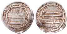 World Coins - ABBASID AR DIRHAM AH 175 MADINAT AL SALAM 2.6 GR & 23 MM