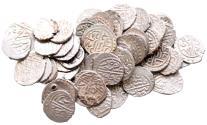 World Coins - LOT of OTTOMAN 52 AKCES BAYAZID II 886 AH
