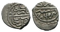 World Coins - OTTOMAN AR AKCHE of BAYAZID II AH 886 TIRE MINT  11 MM & 0.8 GR