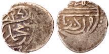 World Coins - OTTOMAN MEHMET I AR AKCHE AH 824 EDIRNE MINT  1.1 GR & 13 MM