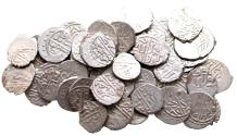 World Coins - LOT of OTTOMAN 53 AKCES BAYAZID II 886 AH