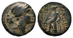 Ancient Coins - SELEUKID KINGDOM  Æ SELEUKOS III SOTER ANTIOCH MINT 15 MM & 3.8 GR