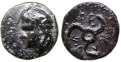 Ancient Coins - DYNASTS of LYCIA PERIKLES Æ 12 MM & 2.1 GR