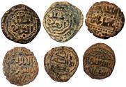 World Coins - 6 ISLAMIC COOPER Æ FALS