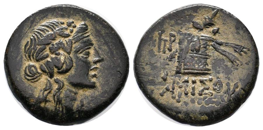 Ancient Coins - PONTOS AMISOS  105-65 BC. Æ 22 MM & 8.1 GR