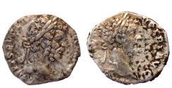 Ancient Coins - 2 ROMAN SILVER AR DENARIUS