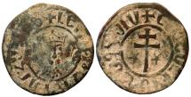 World Coins - CILICIA ARMENIA HETOUM I Æ TANK 5.3 GR & 26 MM