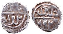 World Coins - OTTOMAN AR AKCHE of BAYAZID I AH 792 1.0 GR & 12 MM