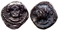 Ancient Coins - CILICIAN TARSUS AR OBOL 0.7 GR & 9,88 MM