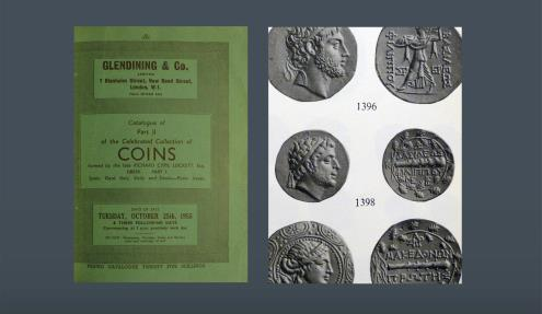 Ancient Coins - KINGS of MACEDON. Philip V. 221-179 BC. From the duplicates of the British Museum, London and from the R.C. Lockett and Dr. Hotz Collection. Ex Ratto, 26 April 1909, lot 1976, etc.