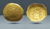 Ancient Coins - Romanus IV Diogenes, 1068-1071 AD. AV Histamenon Nomisma. Purchased from Schenk-Behrens, Essen, November 1969