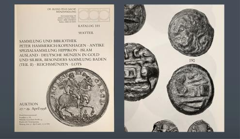Ancient Coins - Roman Republic AE Semis. Anonymous. Rome, c. 215-212 BC. Ex Eberhard Link Collection. From the Peter Hammerich Coll., Peus Nachf. 355, Frankfurt am Main 1998, lot 190