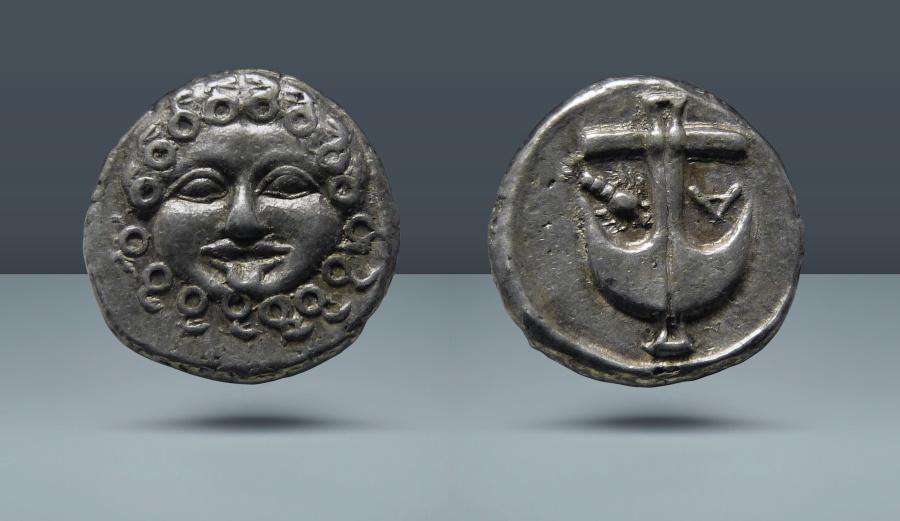 Thrace Apollonia Pontika Late 5th 4th Centuries Bc Ar