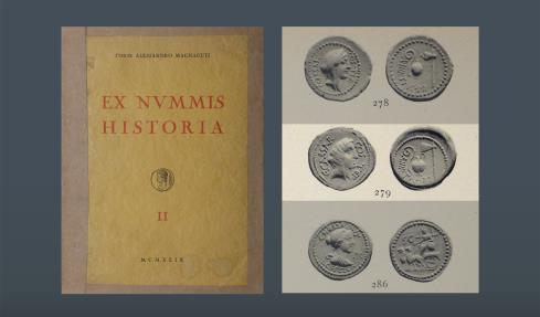 Ancient Coins - ROMAN REPUBLIC. The Caesareans. Julius Caesar. AV Aureus. Ex August Voirol (M&M AG 38, 6 Dec 1968), lot 261; Conte Alessandro Magnaguti (Santamaria, 12 Oct 1949, lot 279)