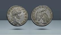Ancient Coins - SELEUCIS and PIERIA, Antioch. Geta. 209-211 AD. AR Tetradrachm. From the Michel Prieur Collection. Sternberg VII (24 November 1977, lot 731. CNG XXII (2 September 1992), lot 677.