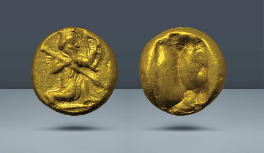 Ancient Coins - ACHAEMENID EMPIRE. Time of Darius I-Xerxes II. c. 5th century BC, AV Daric