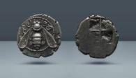 Ancient Coins - IONIA. Ephesus. AR Drachm. Beautiful Bee