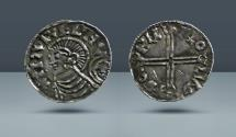 World Coins - ANGLO-SAXON, Kings of Denmark and England. Harthacnut. Moneyer Throcetel