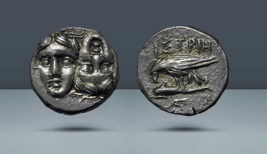 Ancient Coins - MOESIA. Istrus. c. 313-280 BC. AR Drachm