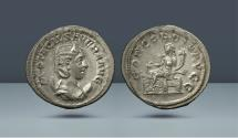 Ancient Coins - Otacilia Severa, wife of Philip I. 244-249 AD. Rome. AR Antoninianus. Purchased 2002 from the firm Grunow (Germany)