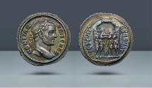 Ancient Coins - Constantius I Chlorus. Caesar, 293-305 AD. Rome, c. 294 AD. AR Argenteus