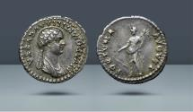 Ancient Coins - Domitilla, Daughter of Vespasian. Rome, 82-3 AD. AR Denarius. Ex NAC 40, 16 May 2007, lot 684