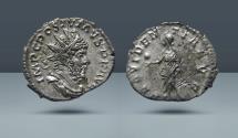 Ancient Coins - Postumus. 259-268 AD. Lugdunum. AR Antoninianus