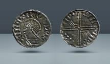 World Coins - IRELAND. Hiberno-Norse. Phase III. Dublin Mint, c. 995-1150 AD. AR Penny. Ex Demerete Collection, Ex Stacks Bowers 20 August 2013, lot 34901