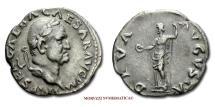 Ancient Coins - Roman Empire GALBA DENARIUS 69 AD DIVA AVGVSTA Livia VERY RARE (RR) roman coin