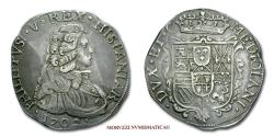 World Coins - Duchy of Milan Philip V of Spain FILIPPO 1702 SILVER 45/70 RARE (R) Italian coin for sale