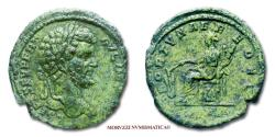 Ancient Coins - Septimius Severus AE AS 196 AD FORTVNAE REDVCI / S C 50/70 RARE (RIC 732/S) Roman Imperial coin for sale