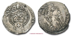 World Coins - Papal States Urban VIII GIULIO AN VIII SILVER VERY RARE (RR) papal coin