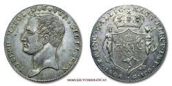 World Coins - Kingdom of Naples Joseph-Napoléon Bonaparte 120 GRANA 1806 SILVER VERY RARE (RR) Italian coin for sale