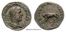 Ancient Coins - Roman Empire Philip the Arab SESTERTIUS 248 AD SAECVLARES AVGG S C RARE (R) roman coin