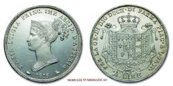 World Coins - Duchy of Parma, Piacenza and Guastalla Marie Louise of Austria 2 LIRE 1815 Milan SILVER 63/70 RARE (R) Italian coin for sale