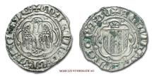 """World Coins - Kingdom of Sicily Martin I of Sicily """"The Younger"""" PIERREALE SILVER RARE (R)"""