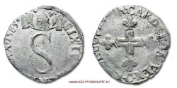 World Coins - Papal States Sixtus V 6 BIANCHI 1589 Carpentras SILVER 40/70 VERY RARE (RRR) Papal coin for sale