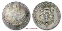 Papal States VACANT SEES SCUDO 1823 Bologna SILVER RARE (R) papal coin