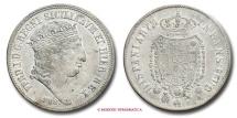 Kingdom of the Two Sicilies Ferdinand I 120 GRANA 1818 Naples SILVER italian coin