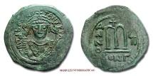 Ancient Coins - Tiberius II Constantine FOLLIS 578-582 AD Constantinople byzantine coin